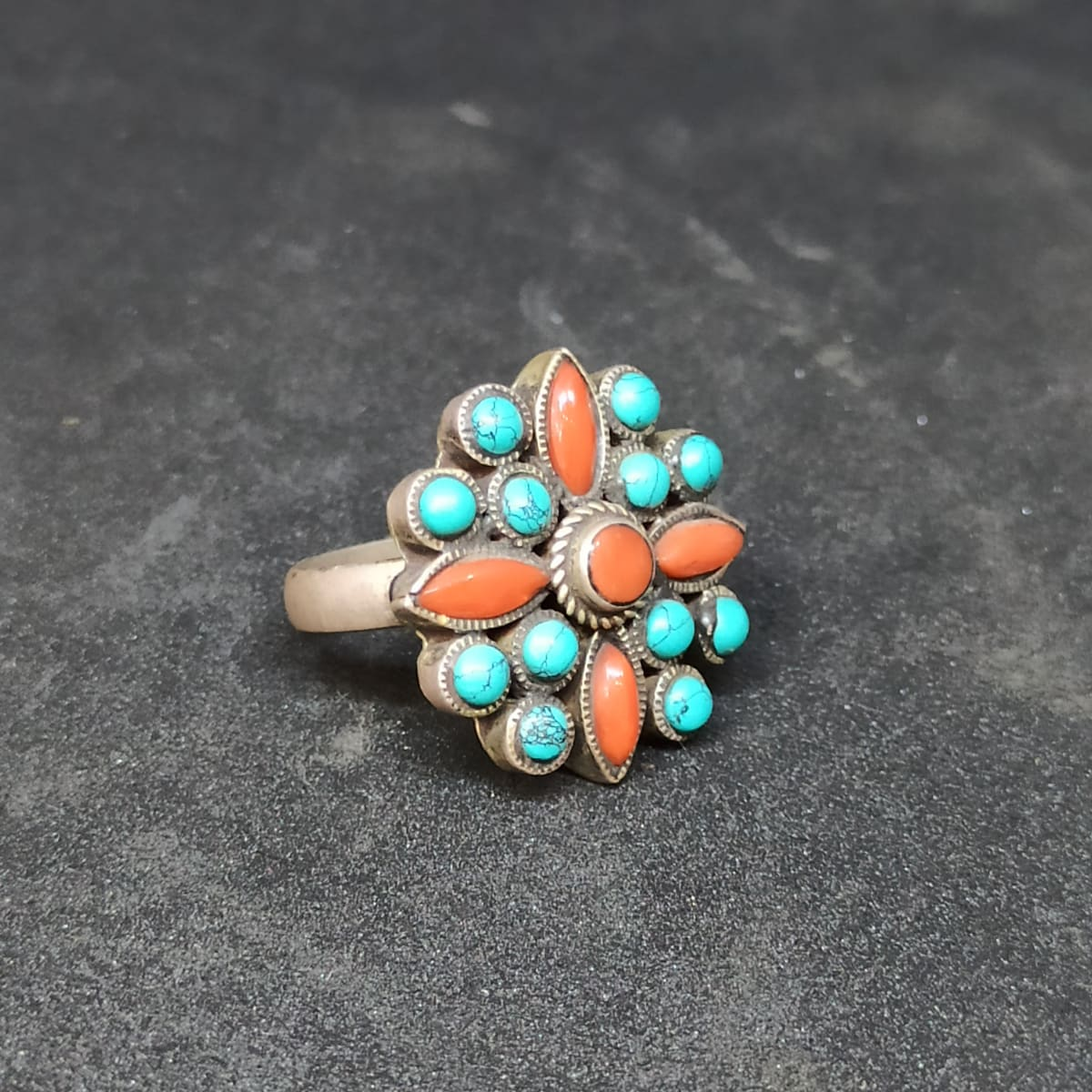 Blue And Orange Ring