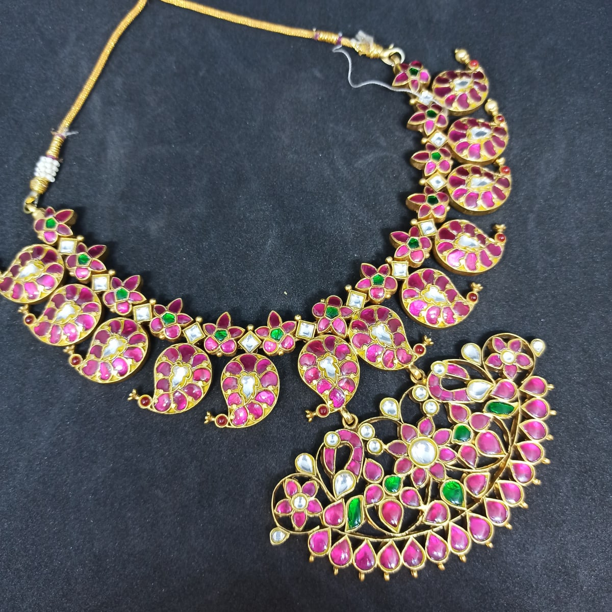 Polki Necklace For Her