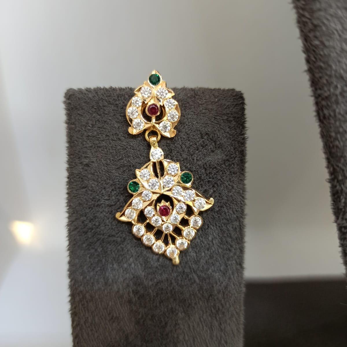 Arpitha Colorstone Gold Earrings