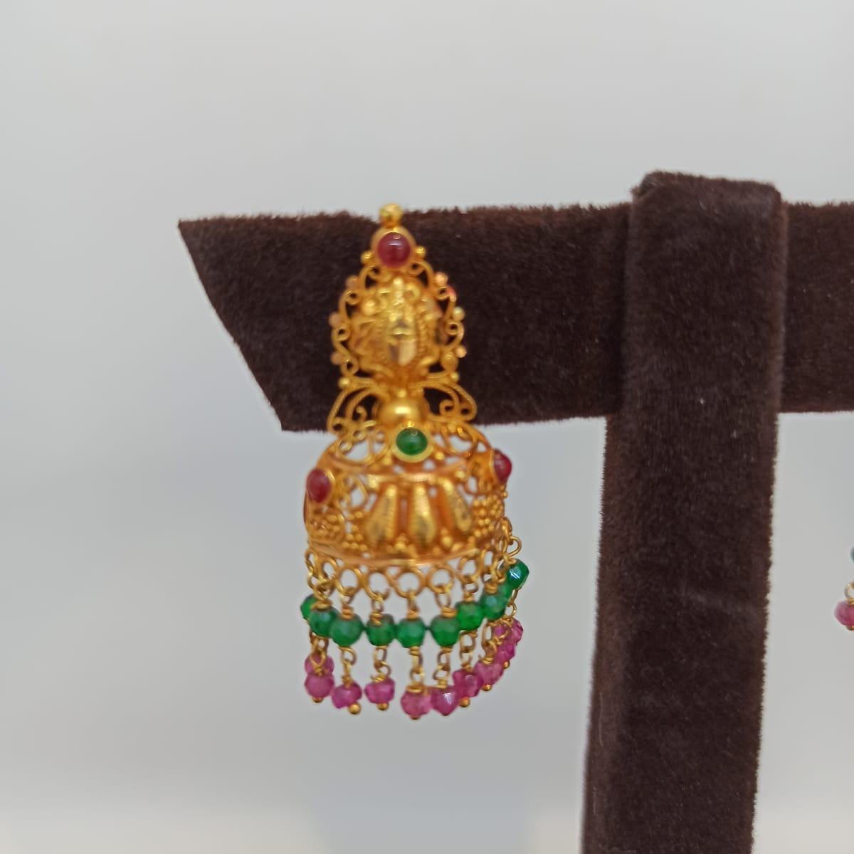 Nikita Temple Jhumka