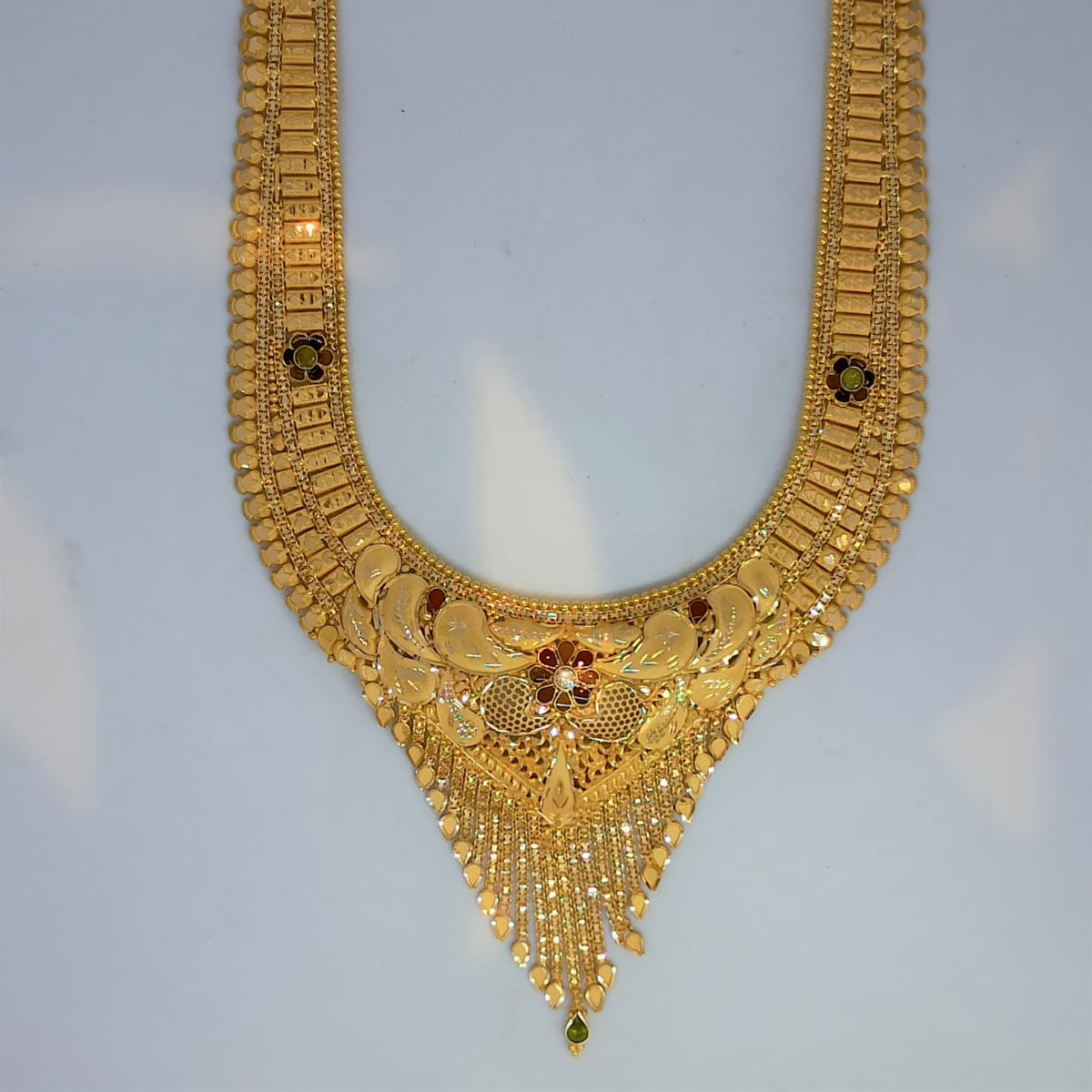 Plain Gold Necklace For Women