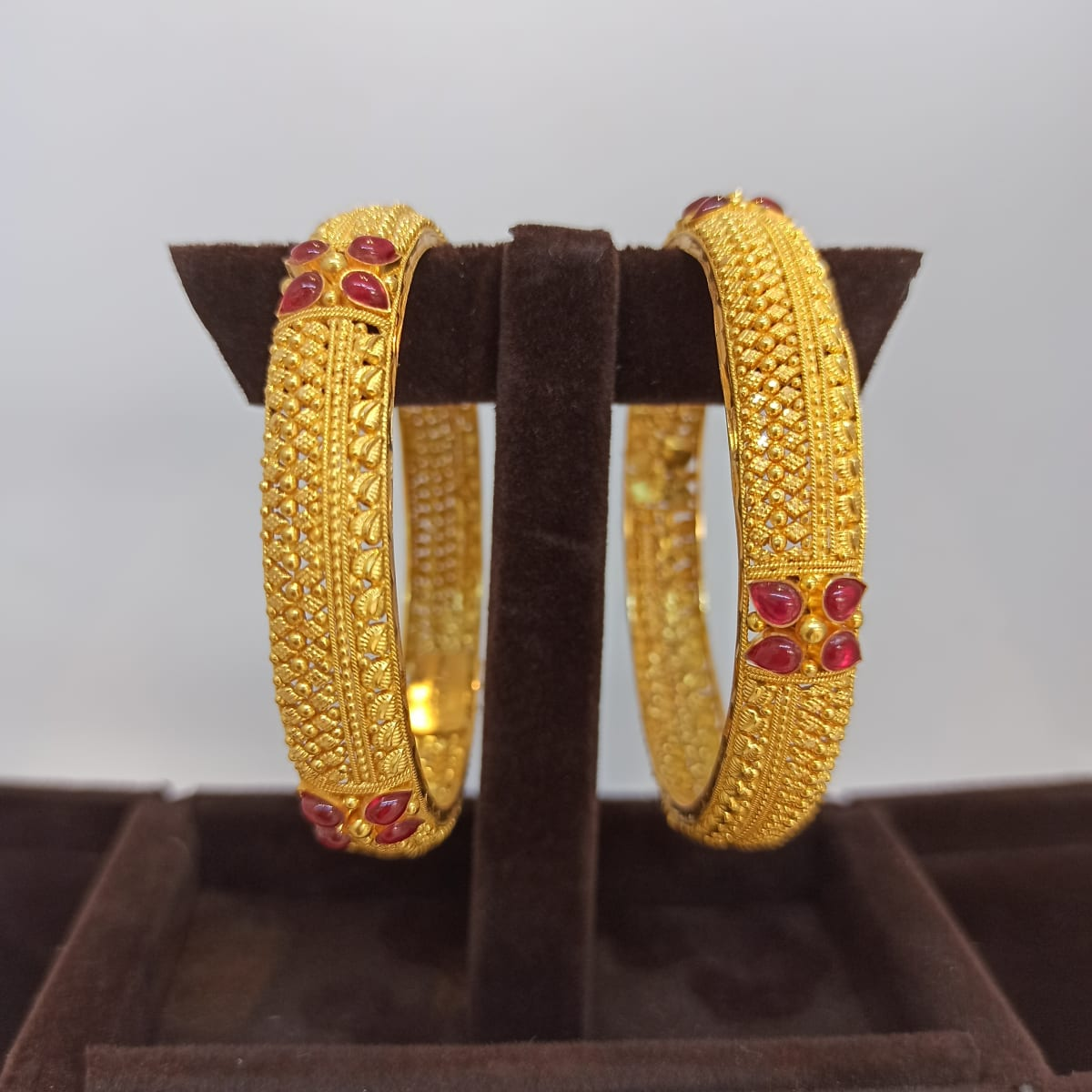 Raksha Temple Gold Bangle