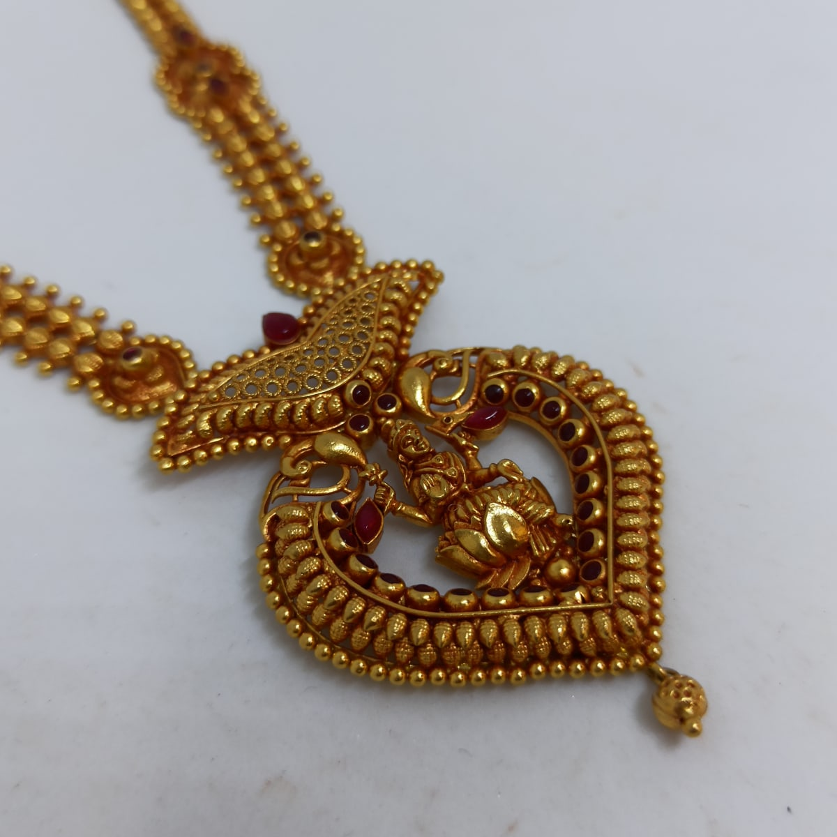 Lakshmi Peacock Necklace