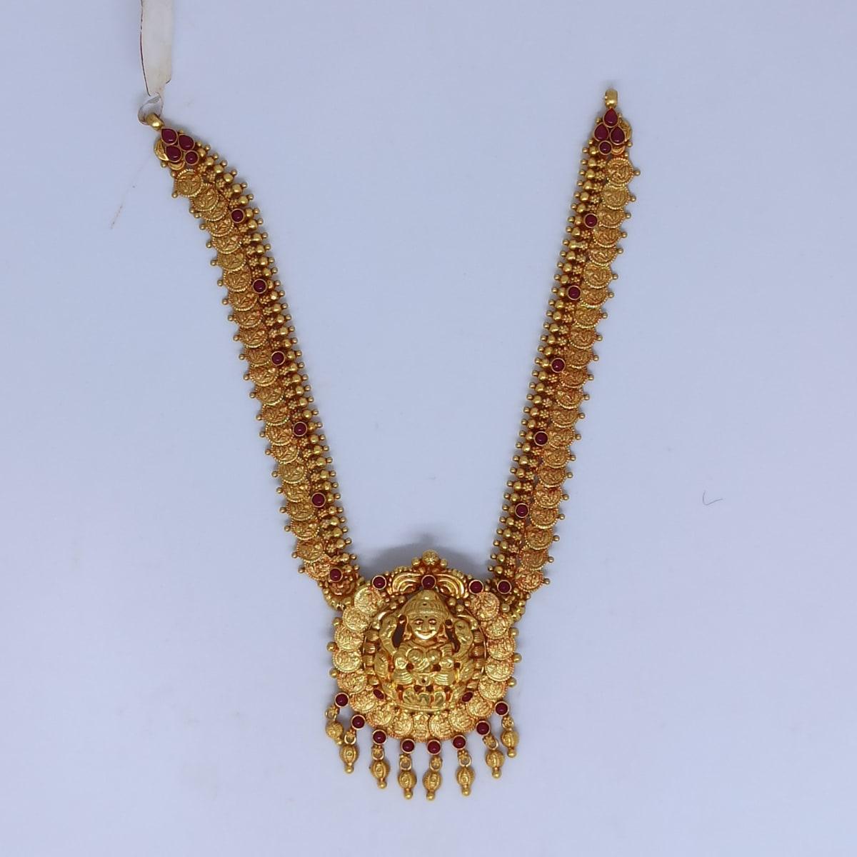 Lakshmi Coin Necklace