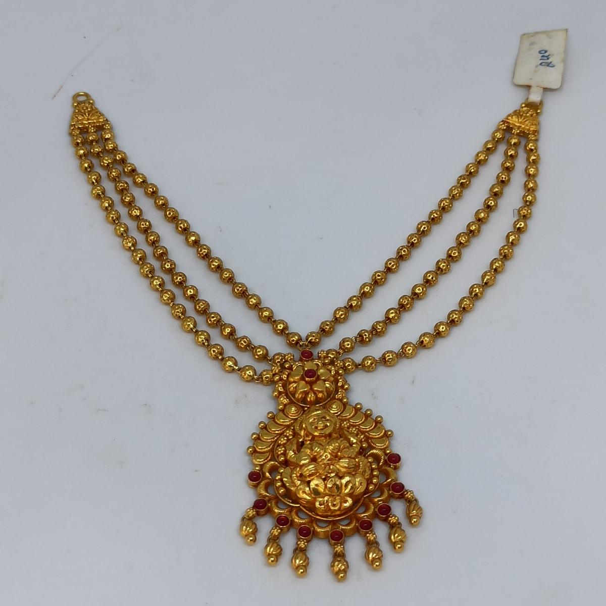 Lakshmi Bead Mala Necklace