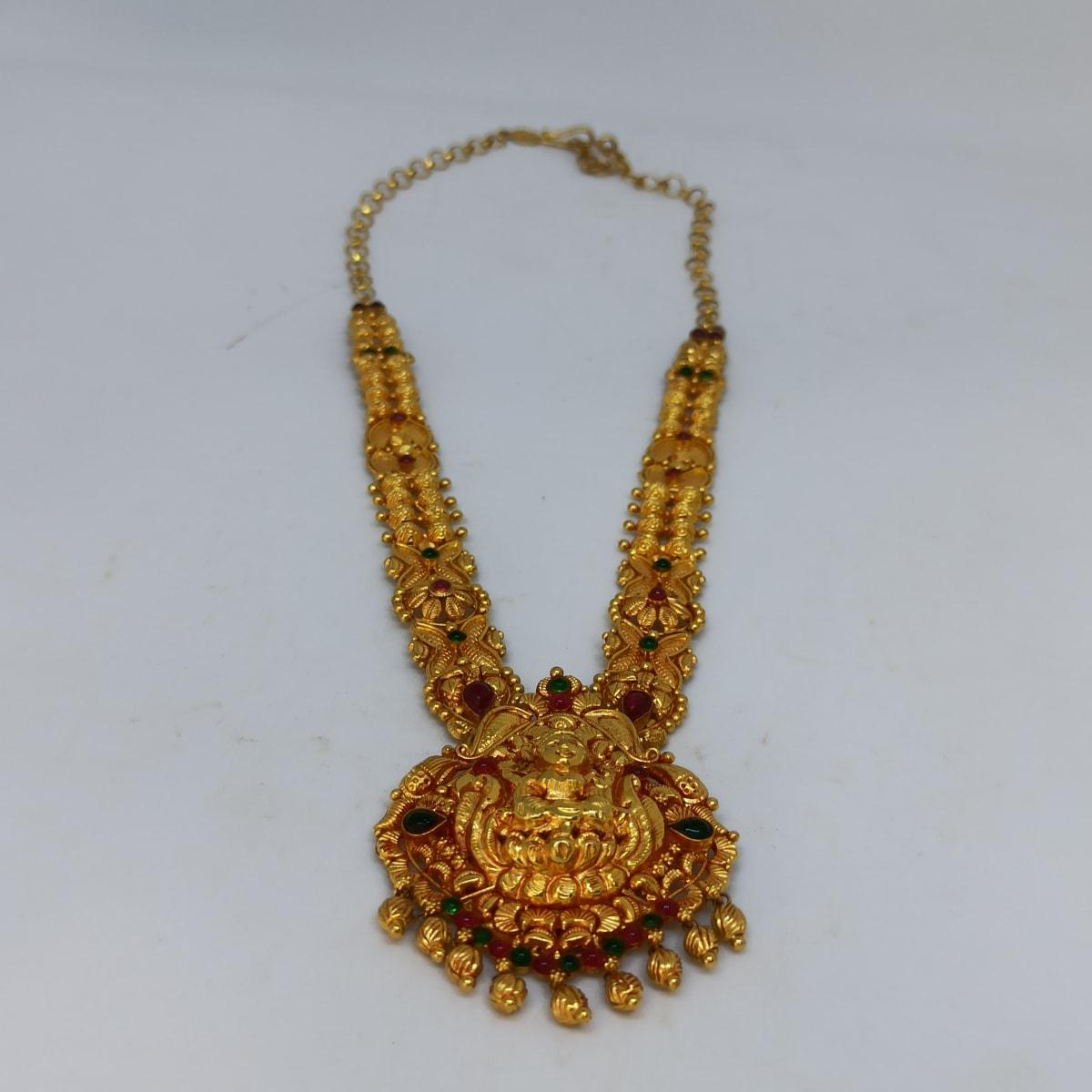 Lakshmi Bead Mala Necklace 2