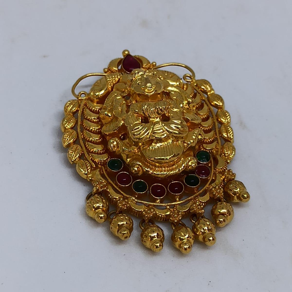 Lakshmi Kemp Stone Pendant