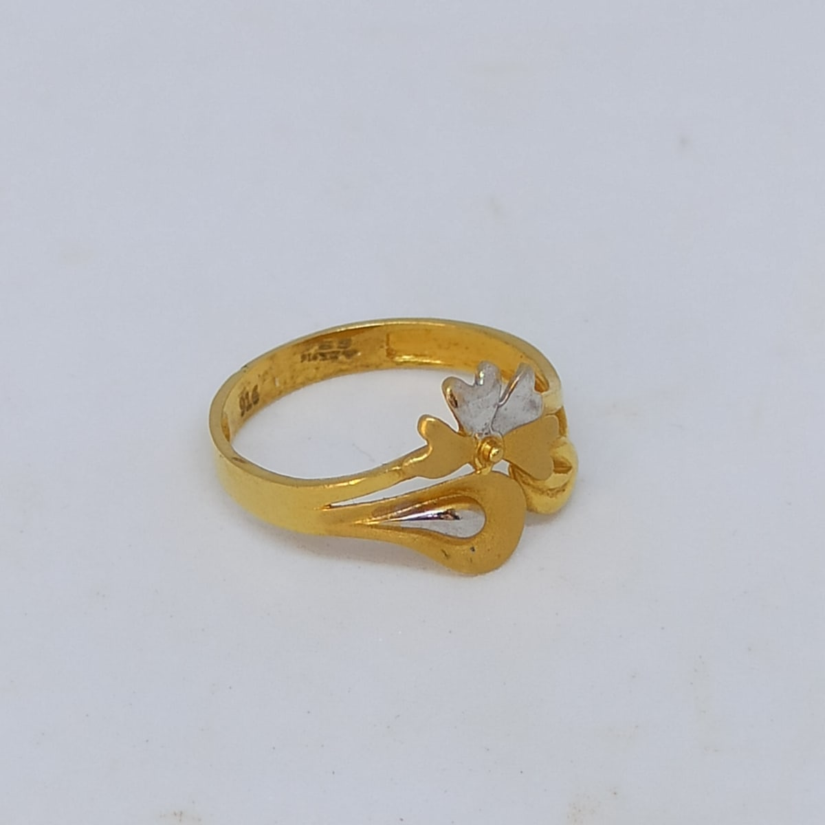 White Shade Ring For Her