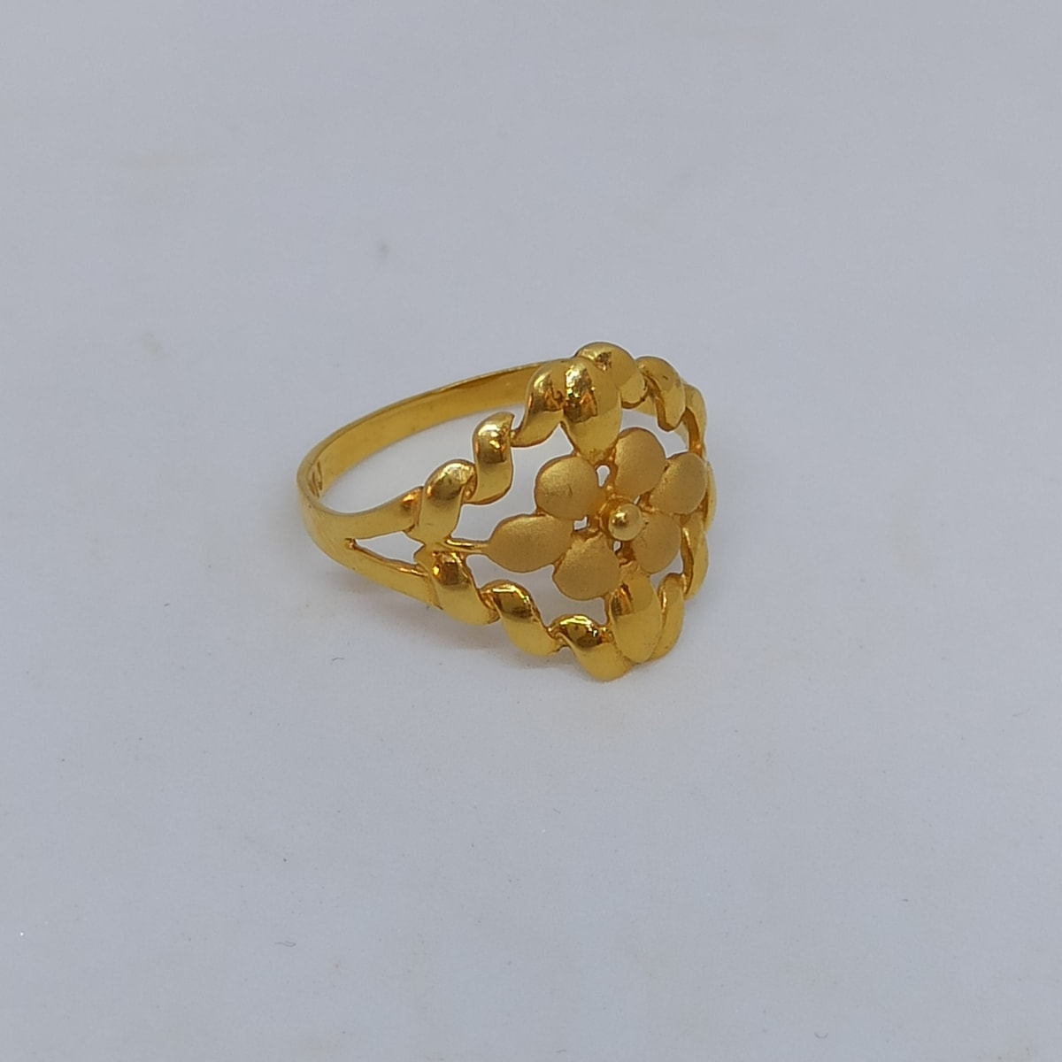 Flower Wave Ring For Her