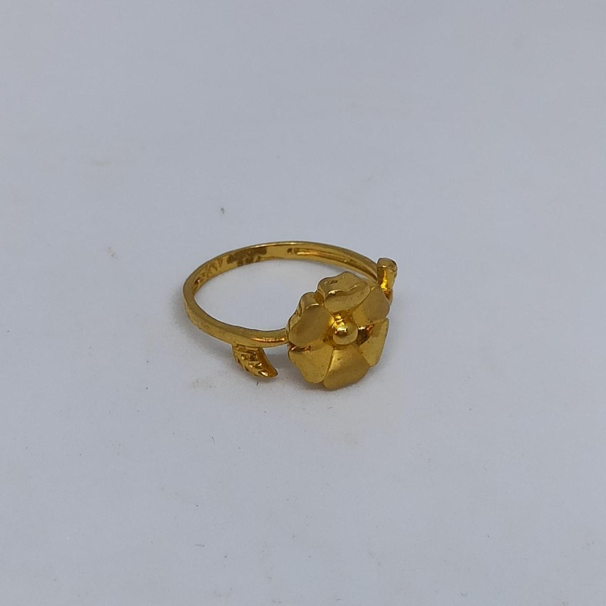 Flower Leaf Ring For Her