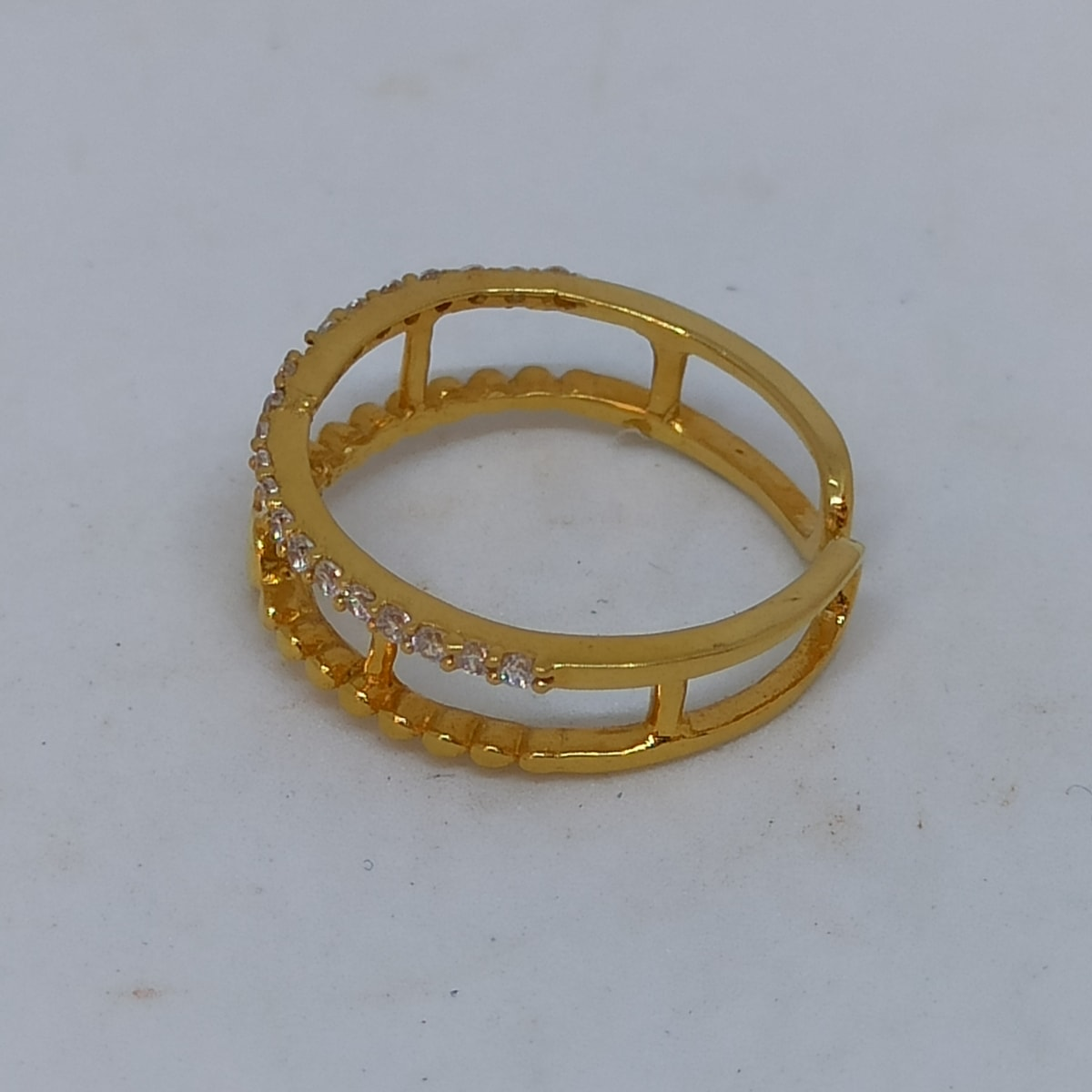 Heart Cz Ring