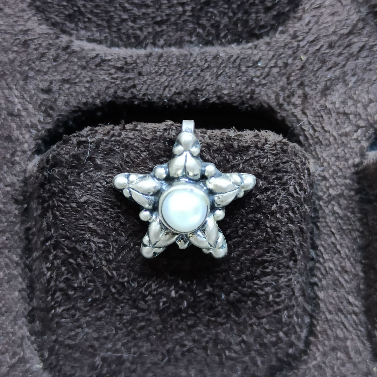 Star Shape Pearl Nosepin