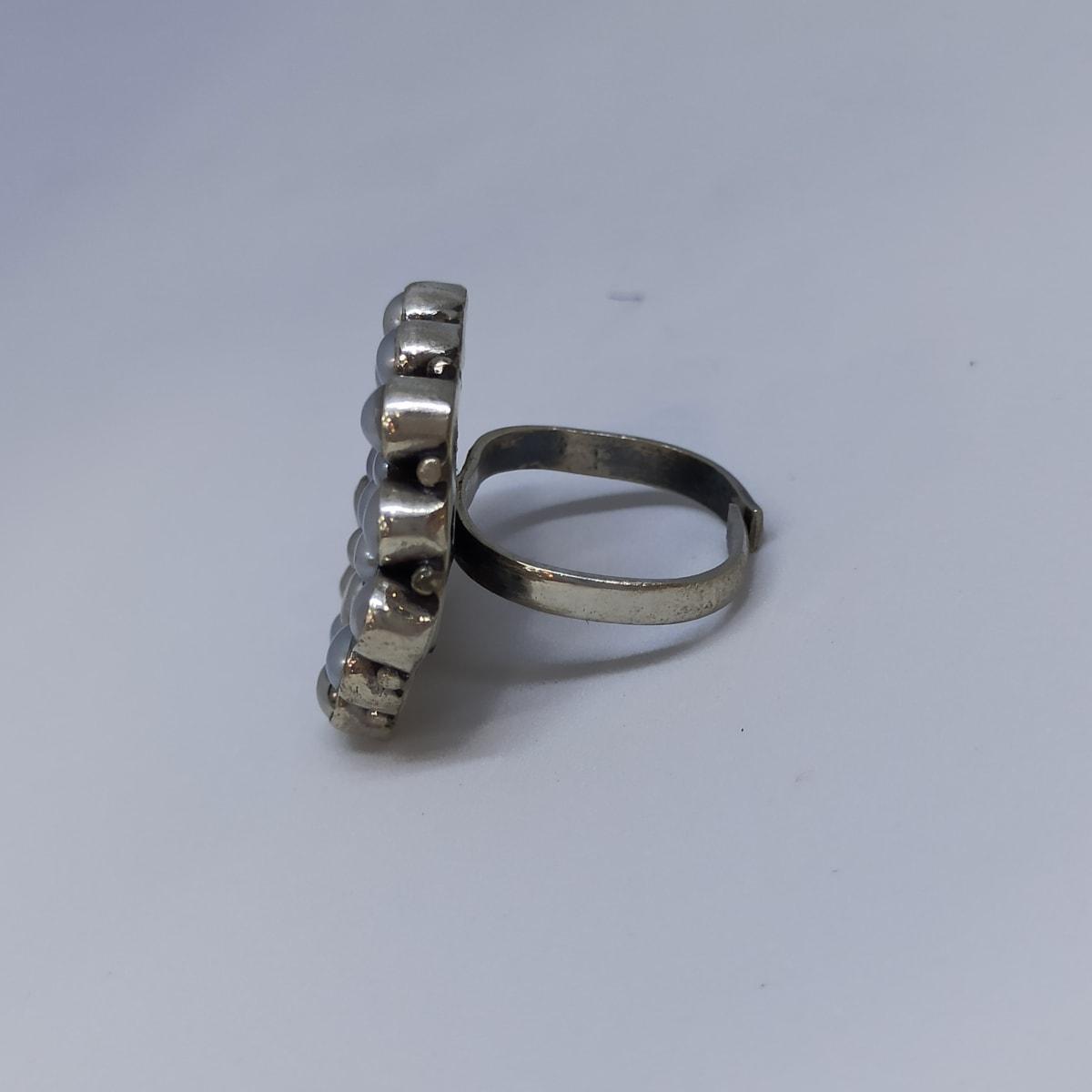 Hexagon Toe Ring