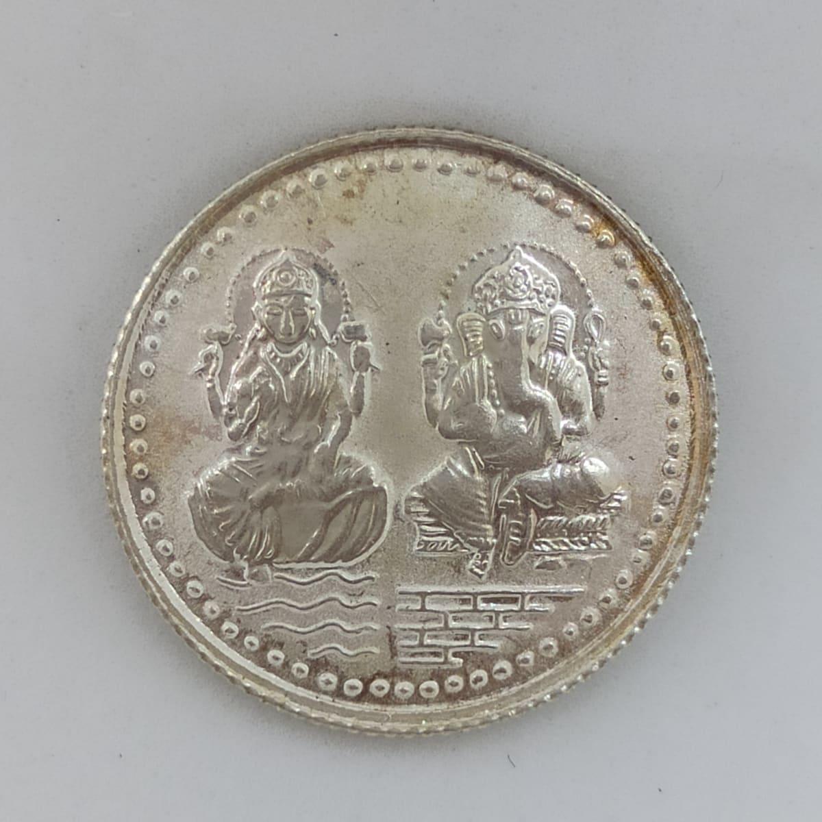 Lakshmi And Ganesha Coin