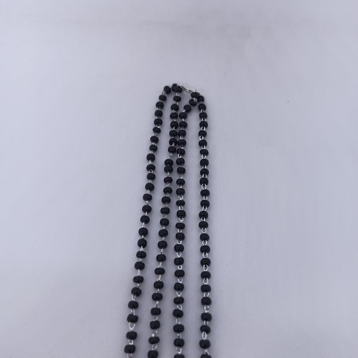 Black Bead Mangalsutra