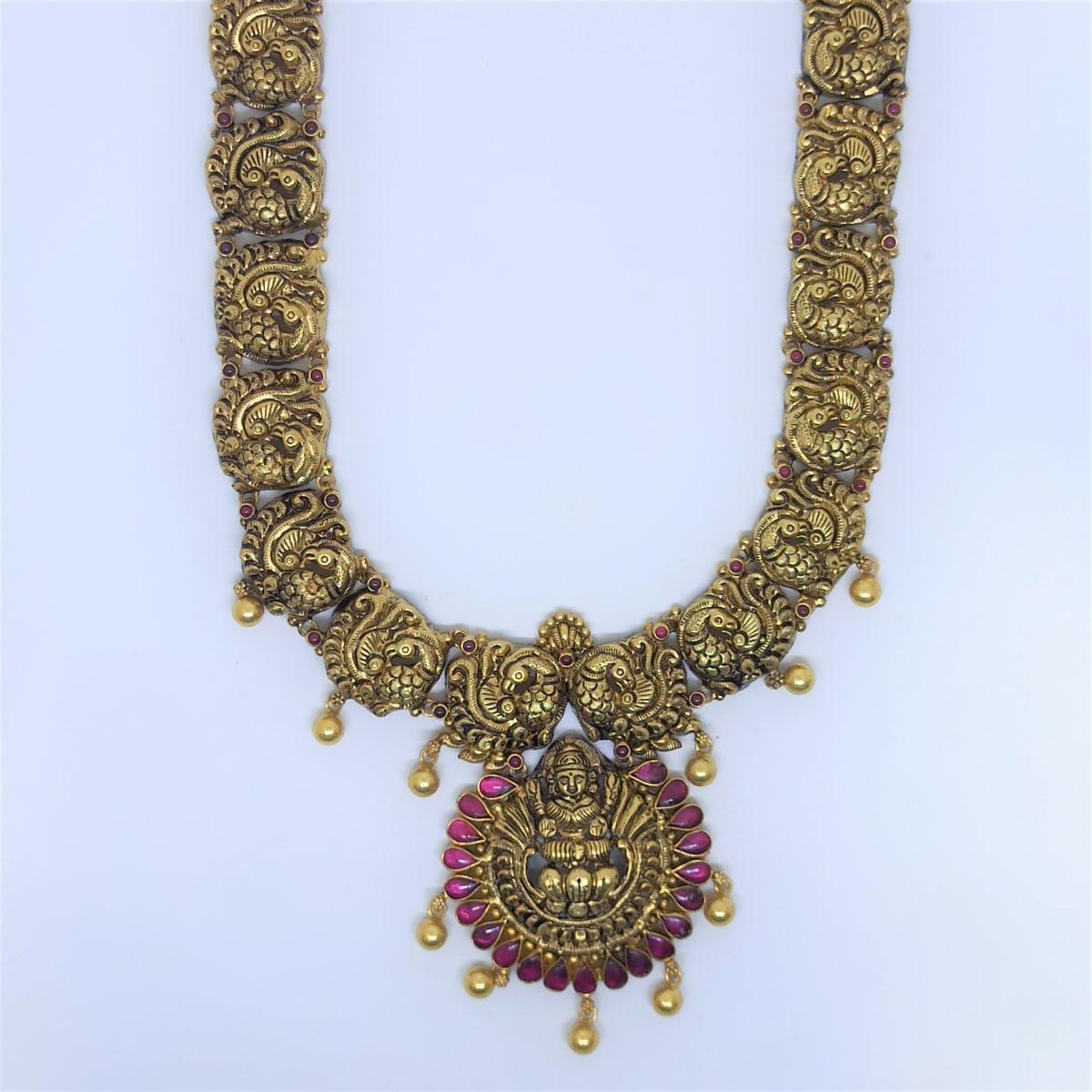 Lakshmi Antique Peacock Haram