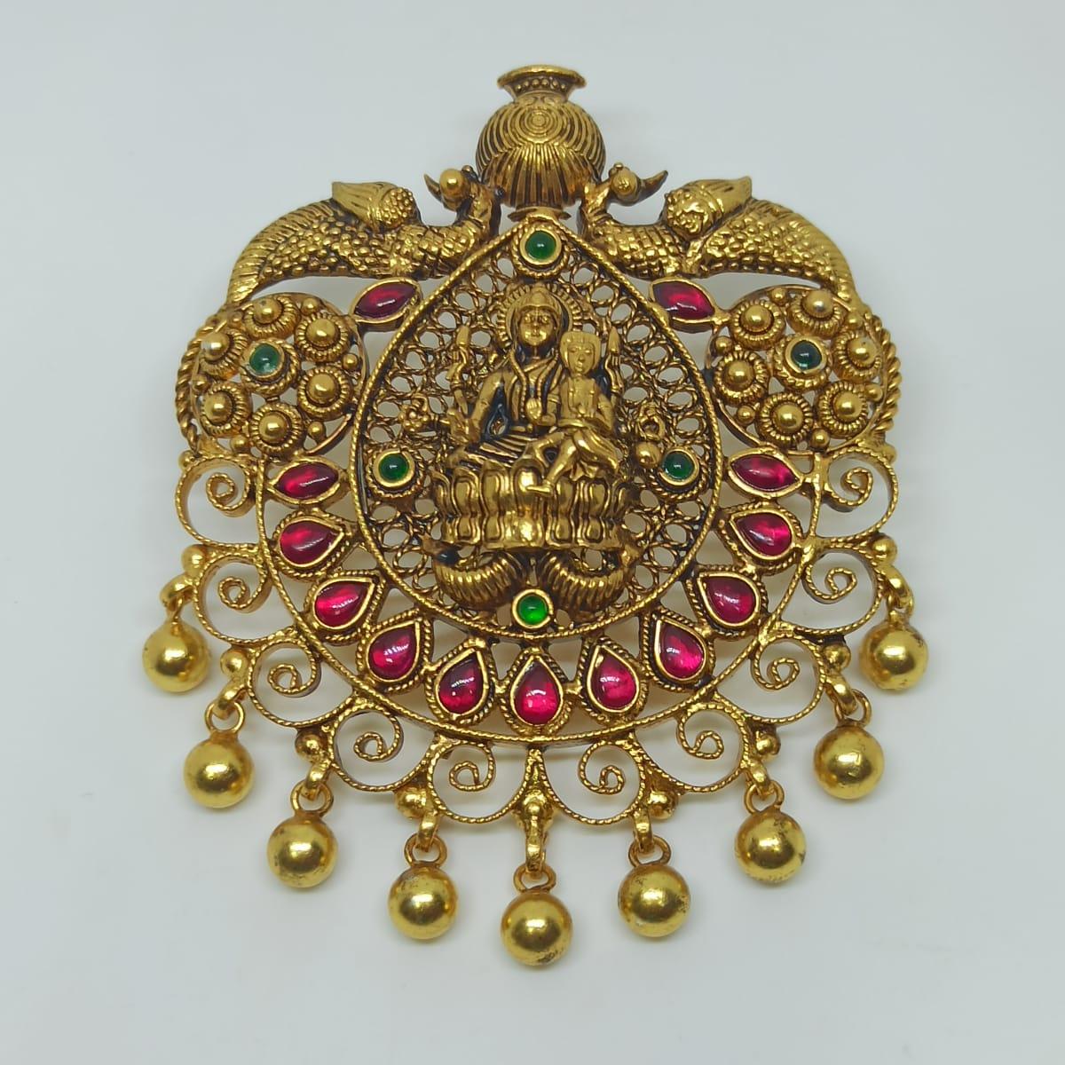 Parvathi Temple Pendant