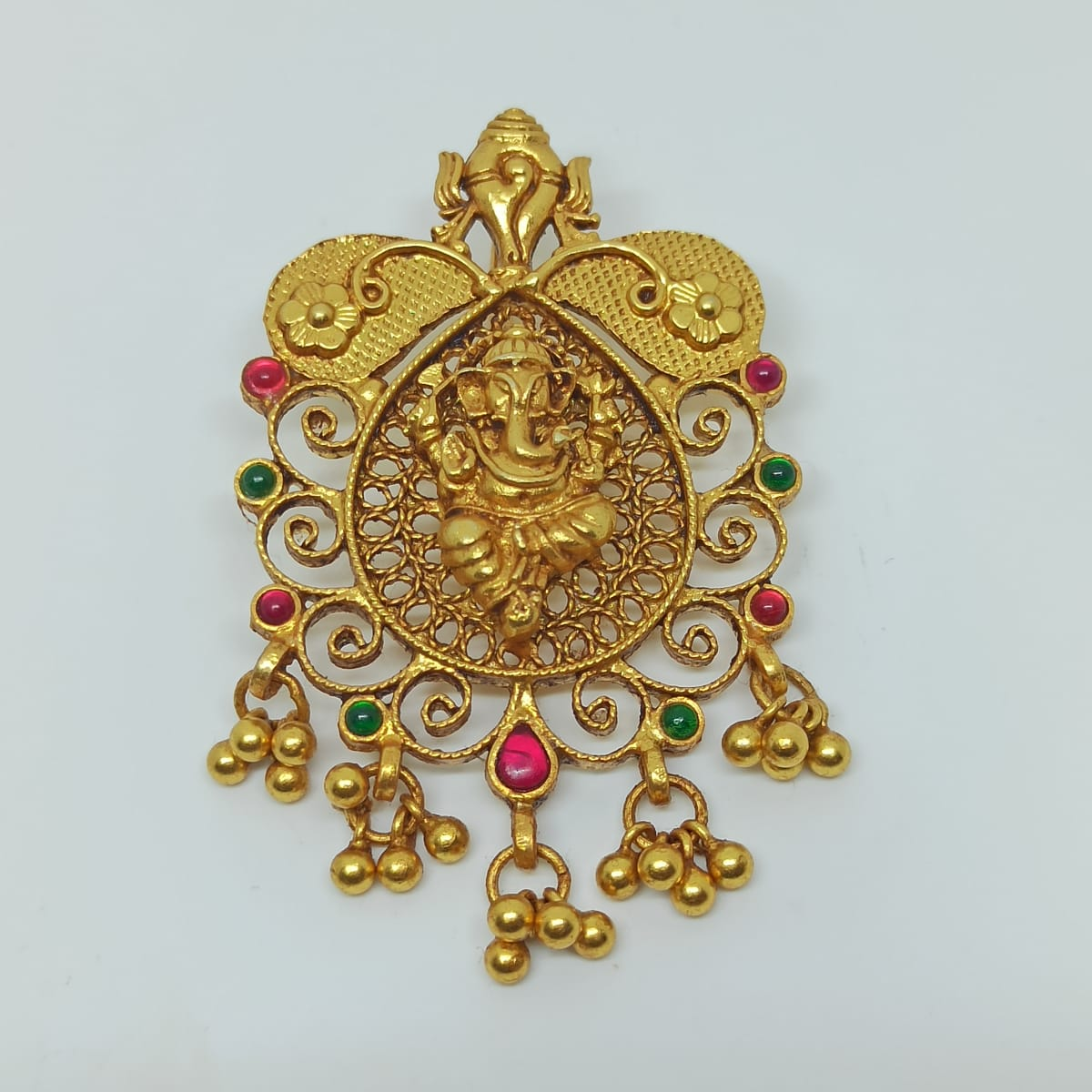 Ganesha Antique Pendant