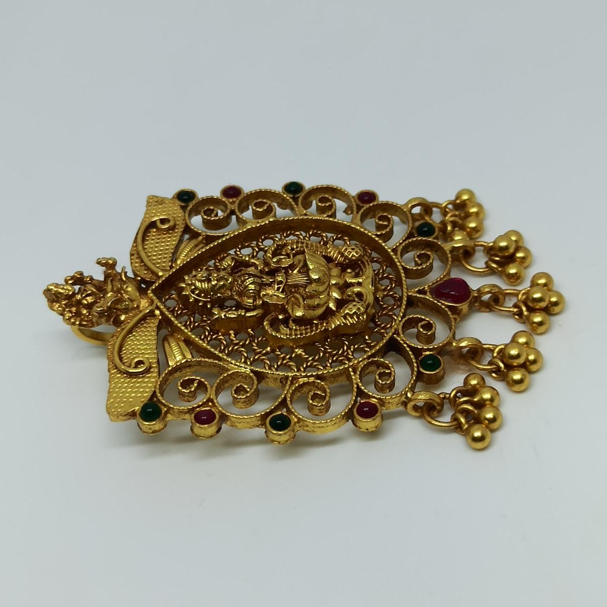 Sri Lakshmi Jali Antique Pendant