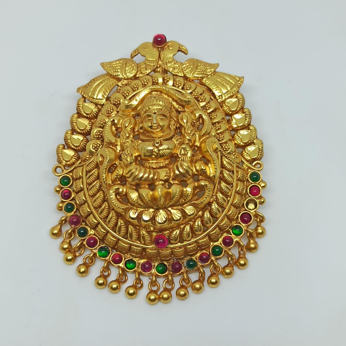 Lakshmi Temple Pendant 3