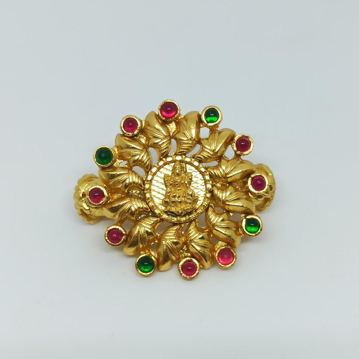 Lakshmi Floral Antique Kada