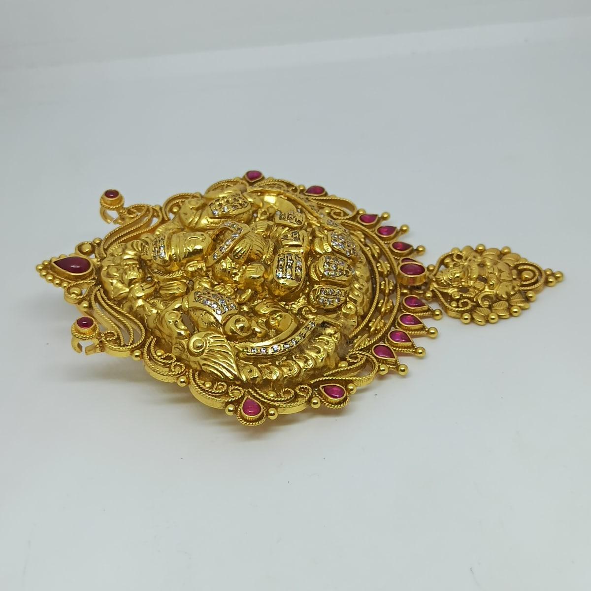 Lakshmi Drop Antique Pendant