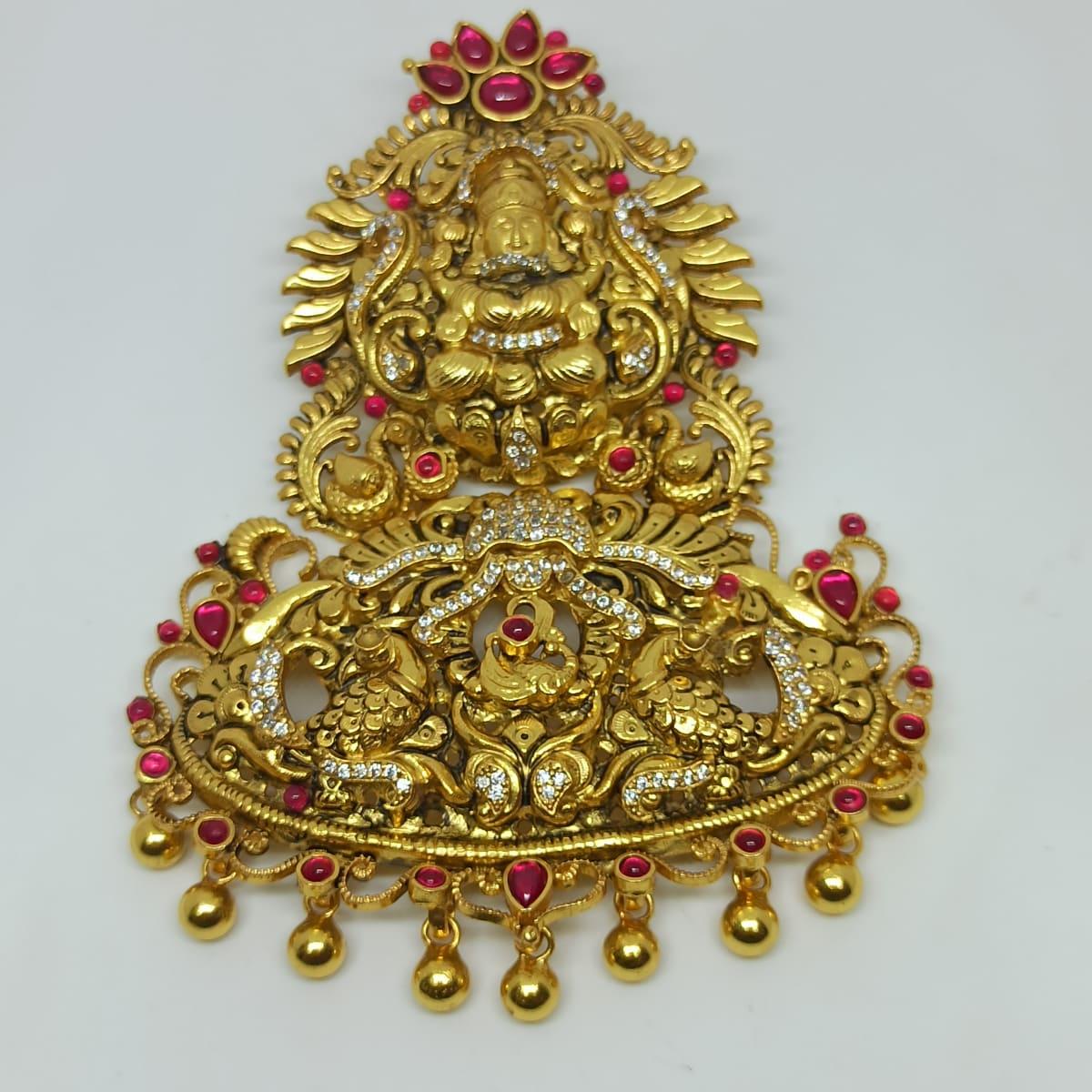 Lakshmi God Antique Pendant