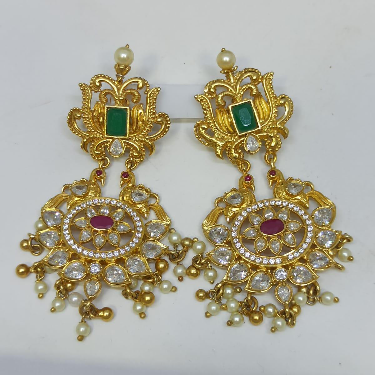Divya Cz Earrings