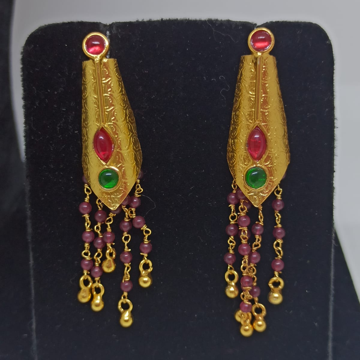 Gayatri Kemp Stone Drop Earrings