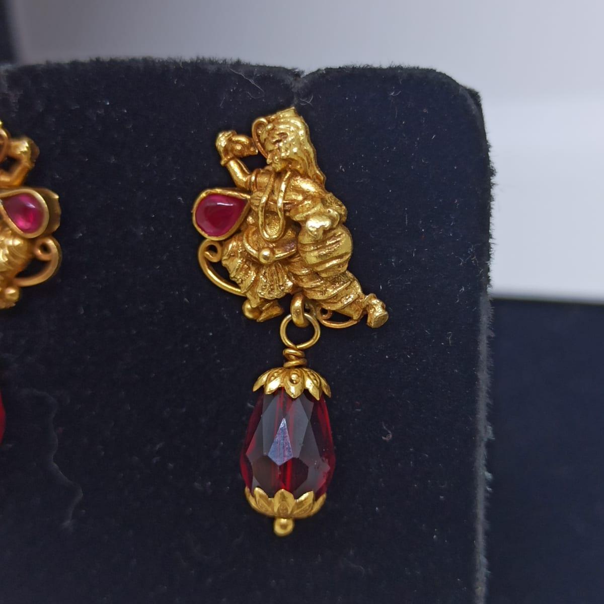 Kanya Antique Drop Earrings