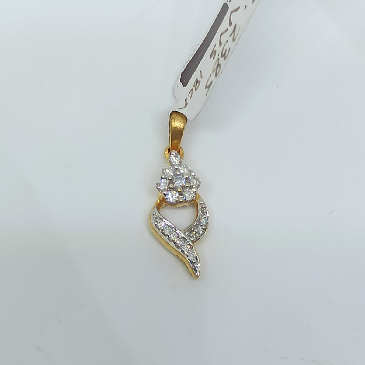 Flower Diamond Pendnat