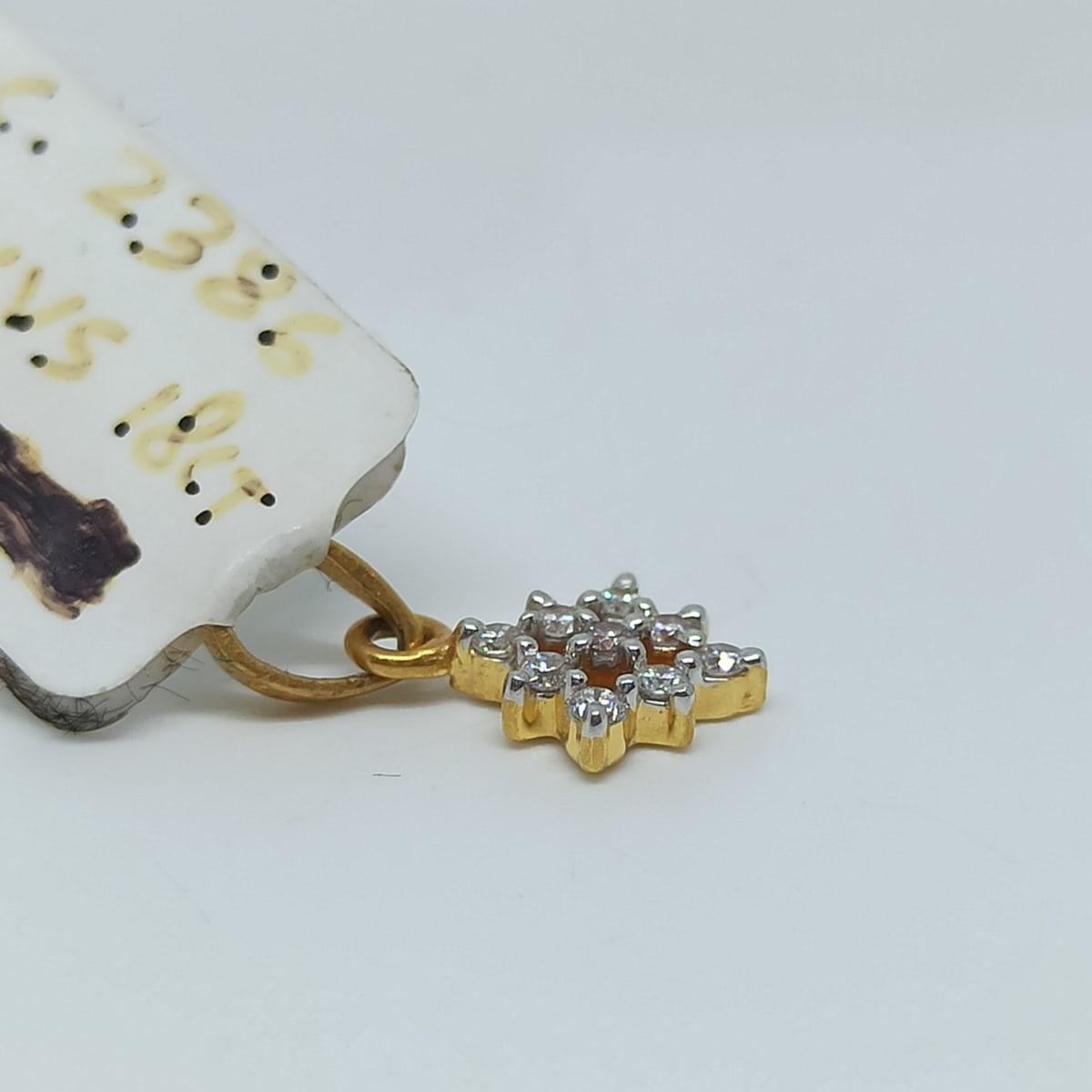 Rekha Diamond Pendant