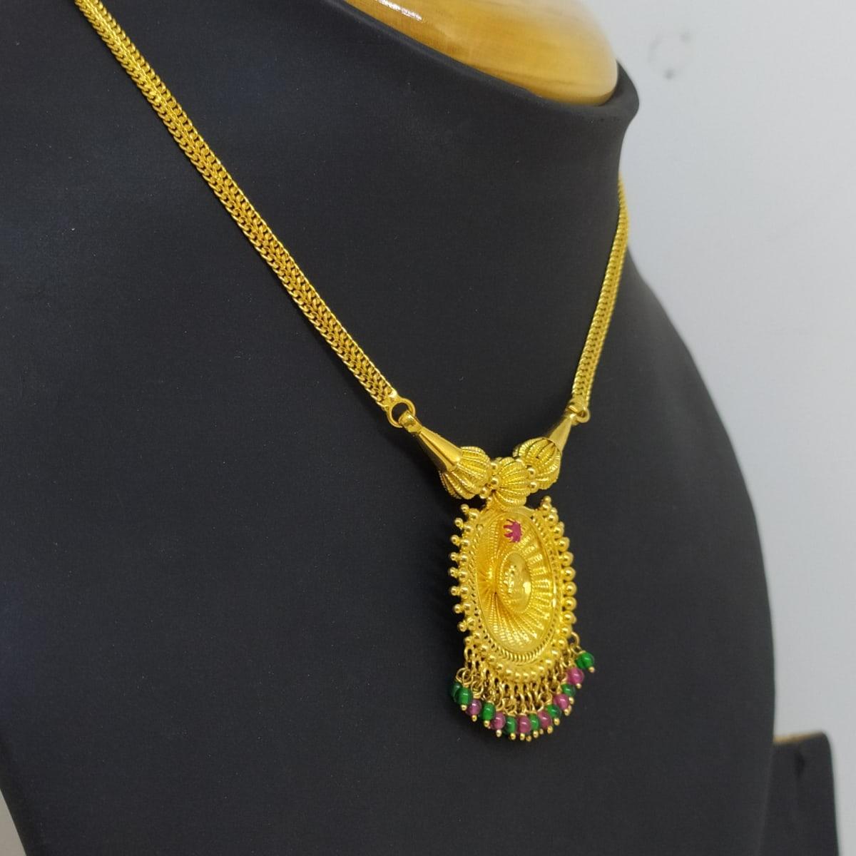 Lakshmi Stone 2 Necklace