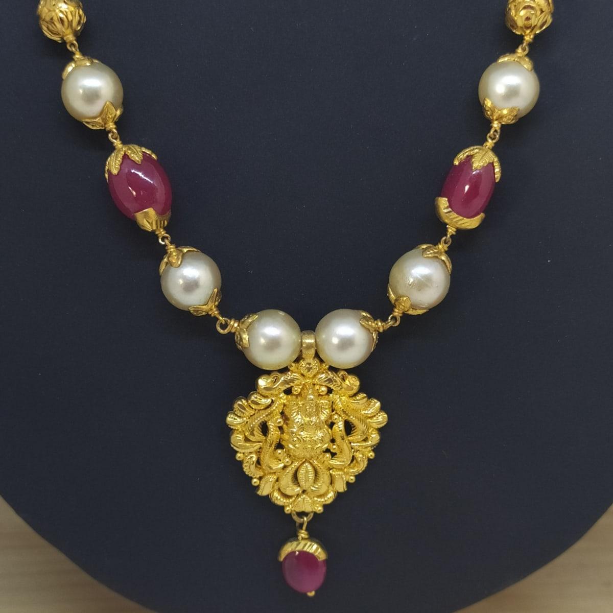 Lakshmi Pearl Necklace