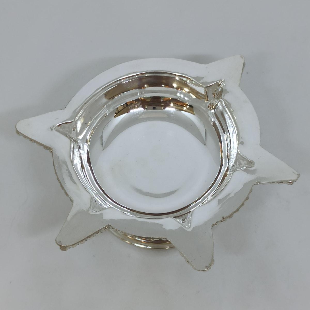 Panchdeepa Plain Silver Deepa
