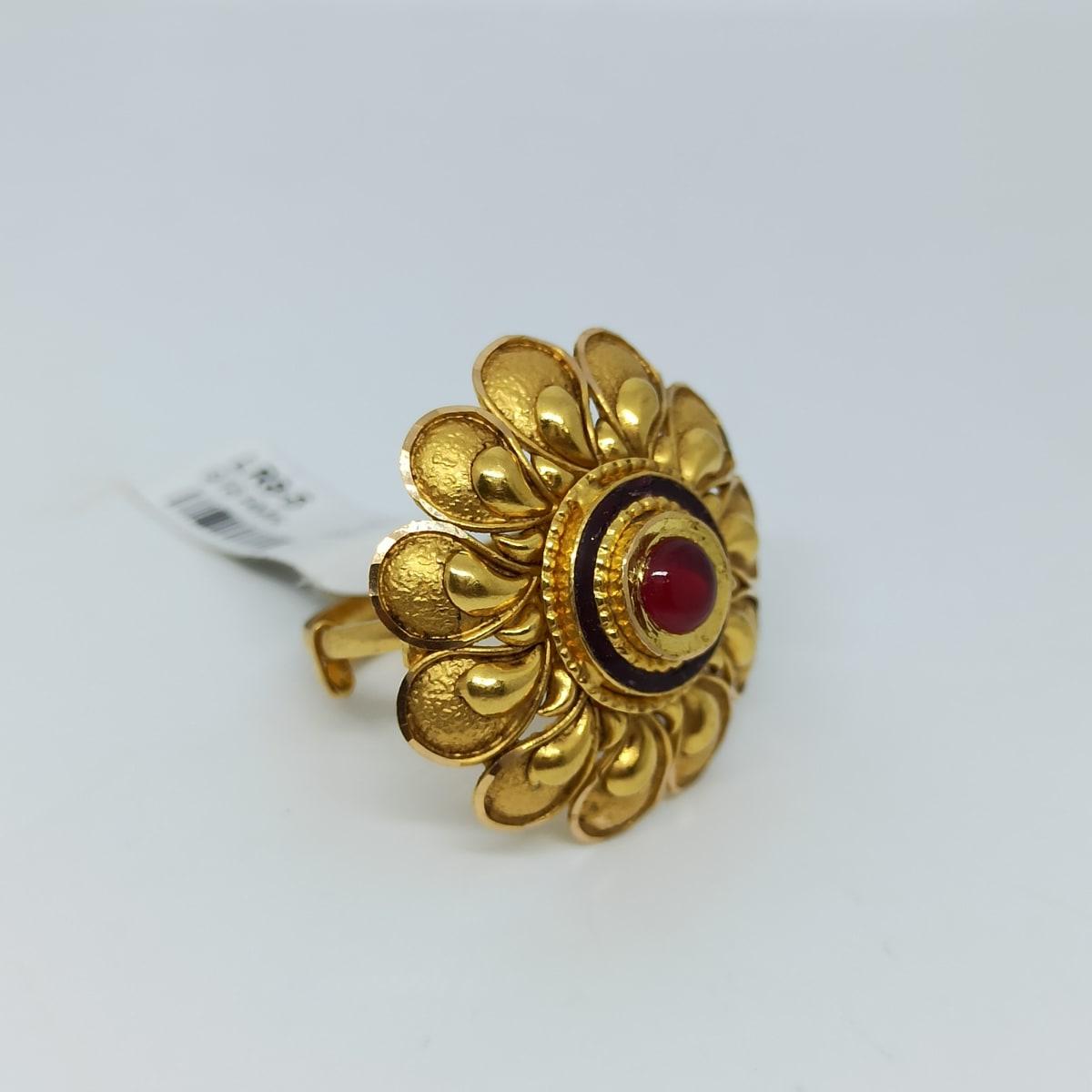 Antique Flower Ring