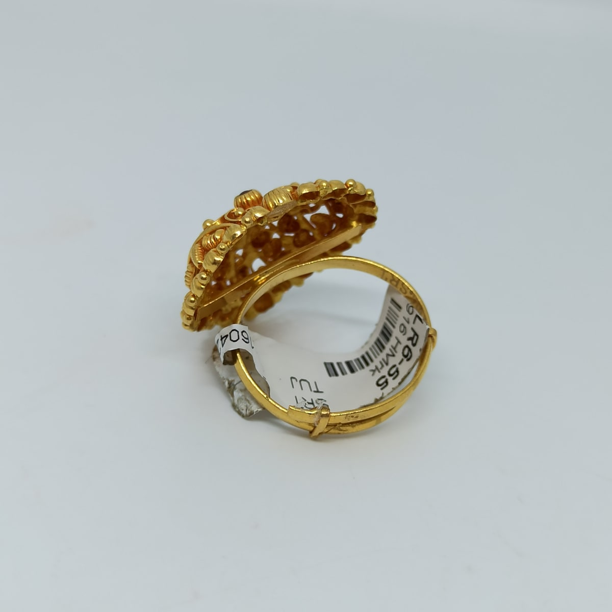 Heart Shape Temple Ring