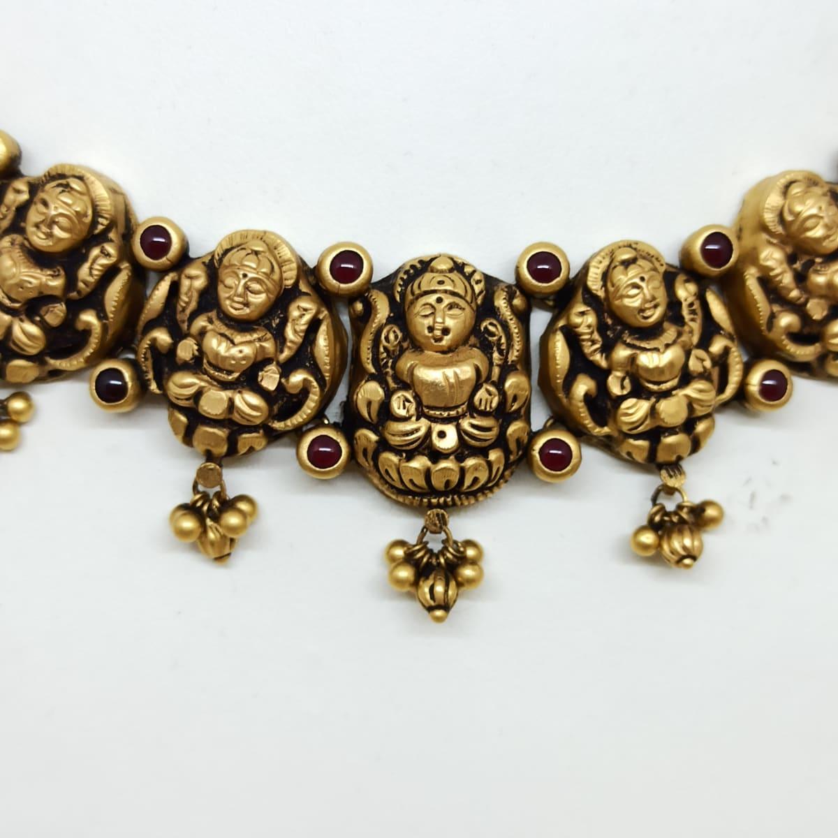 Sri Lakshmi Antique Necklace