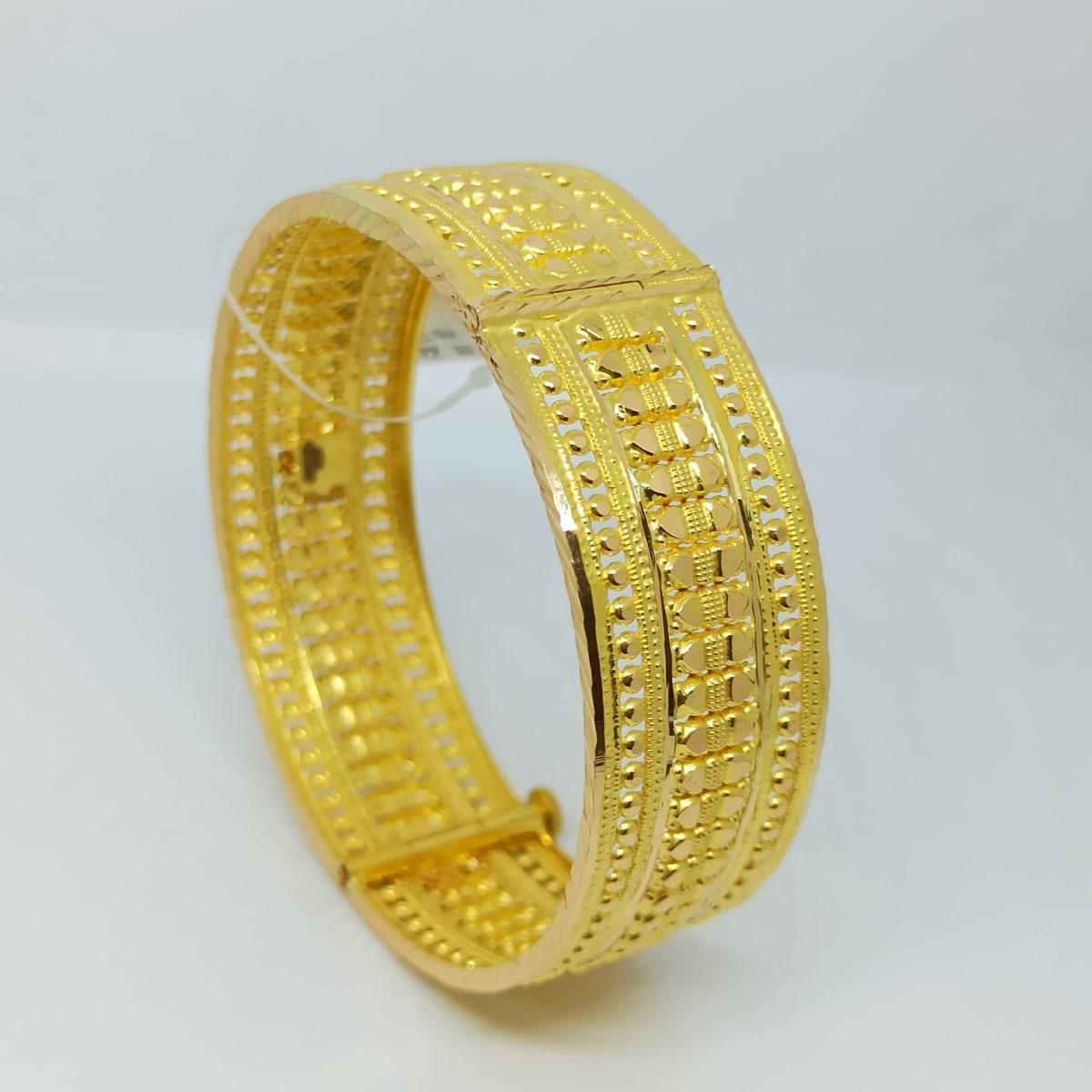 Kanya Plain Gold Kada