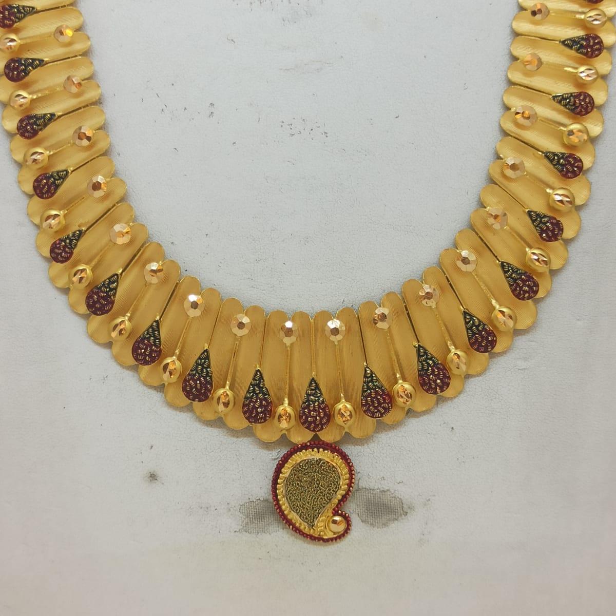 Hansanandini Haram And Necklace