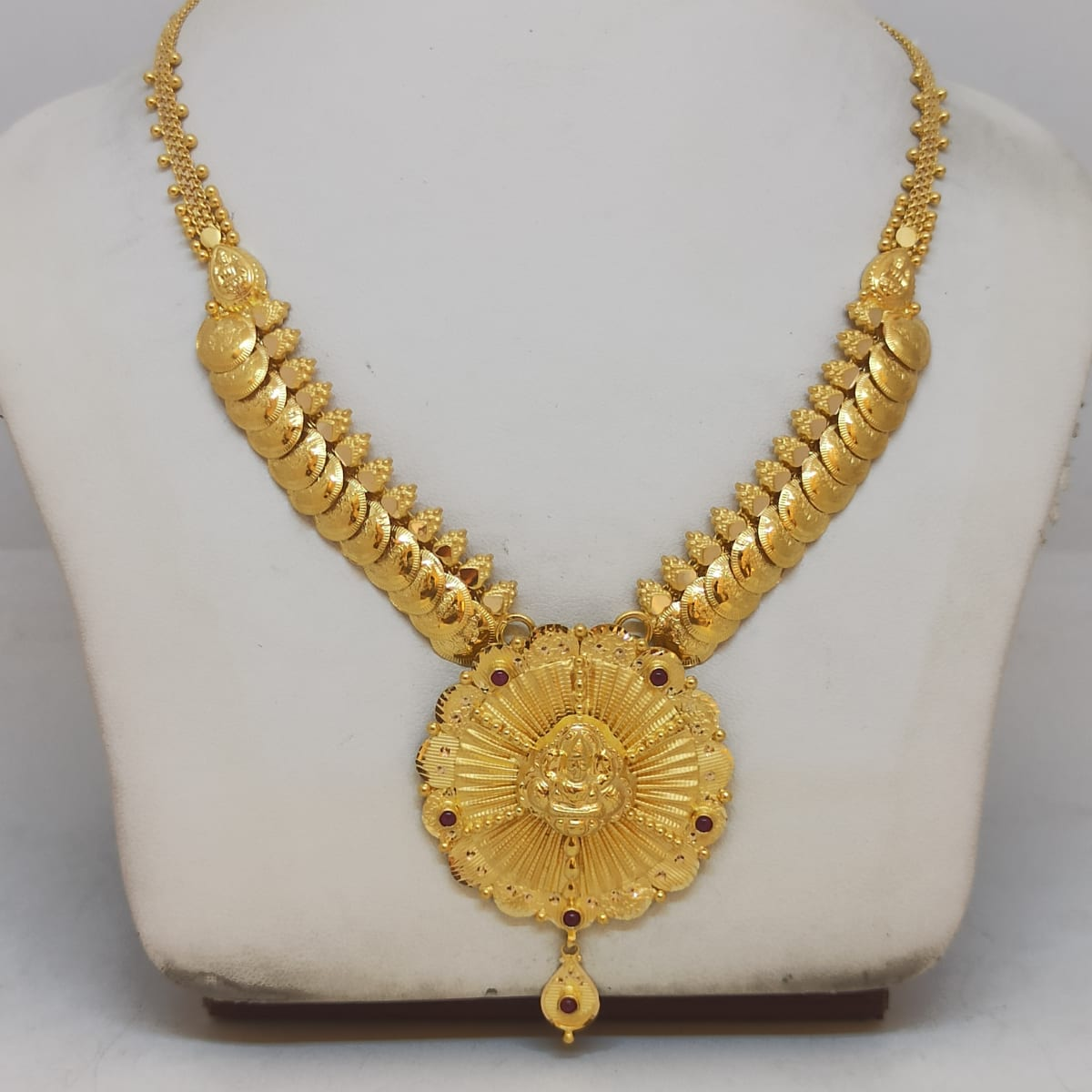 Dhanya Gold Necklace