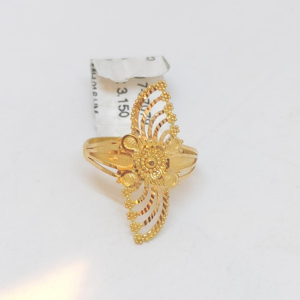 Flower Plain Ring