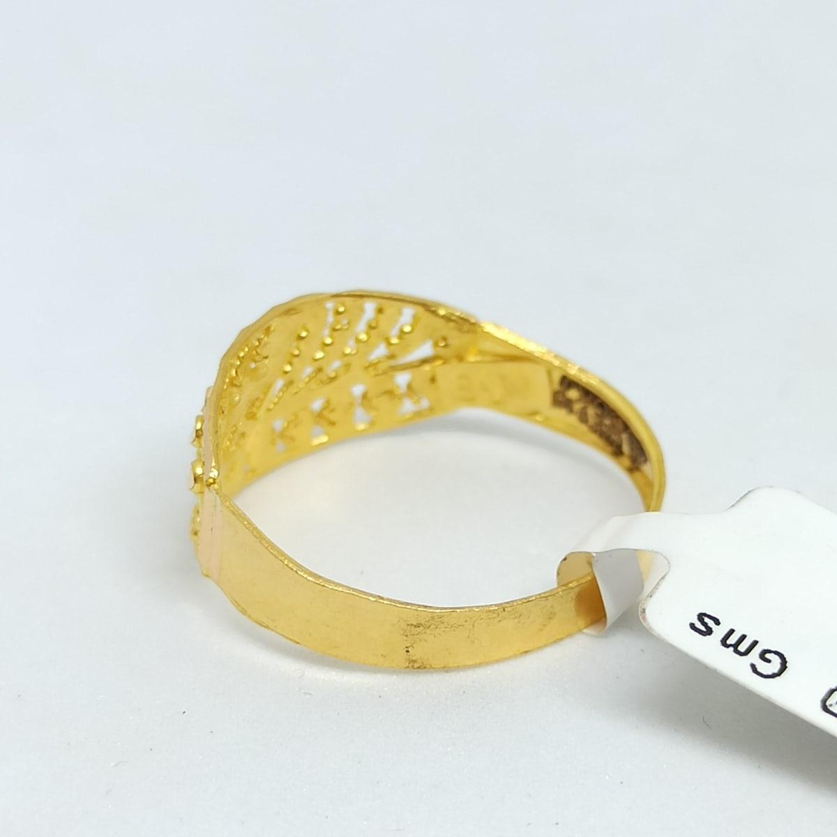 Plain Gold Designer Ring