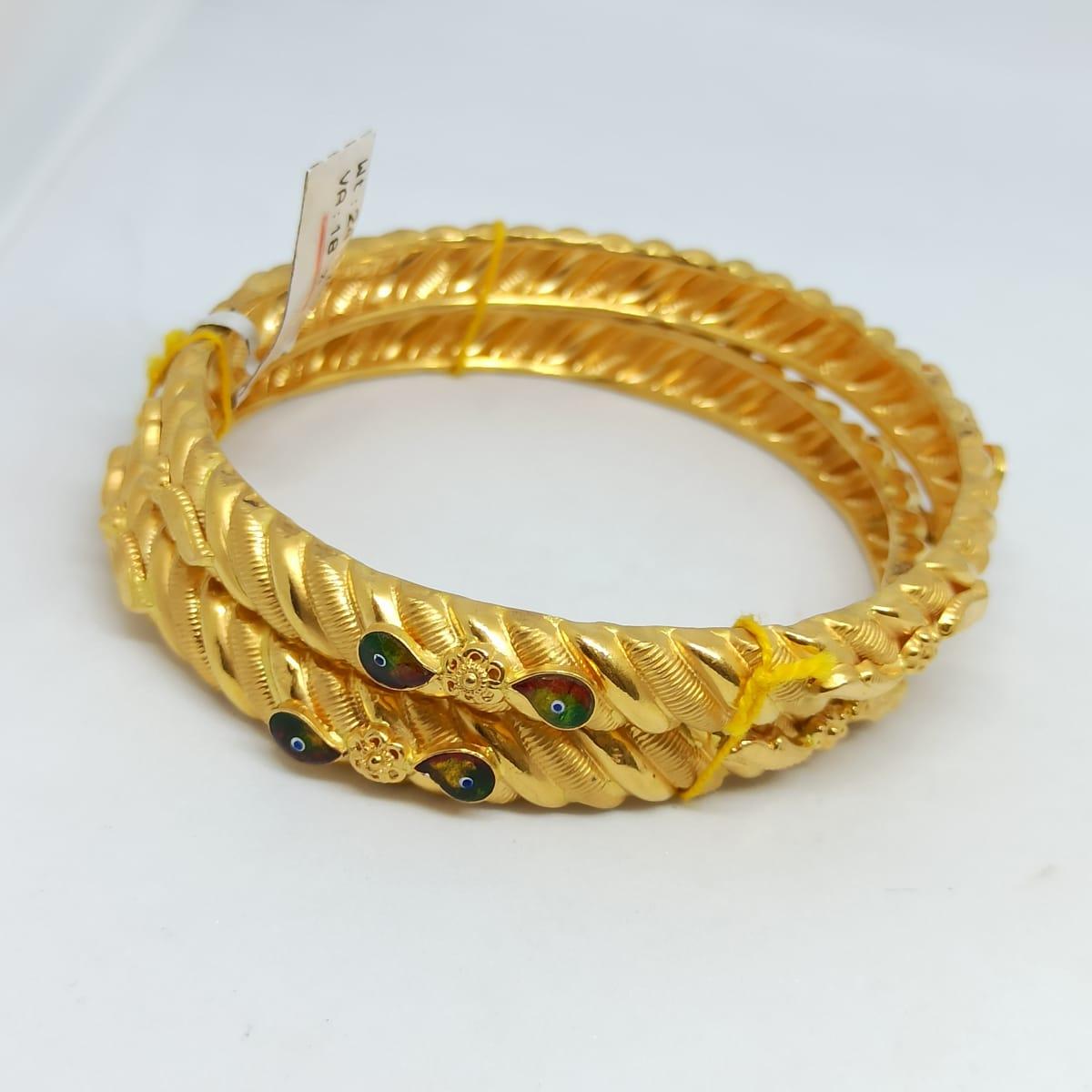 Spiral Designer Bangles