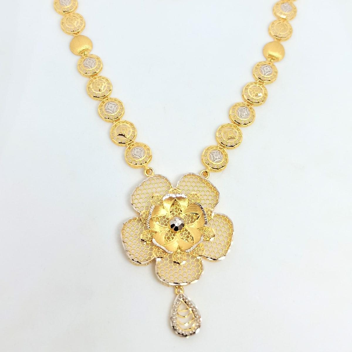 Floral Jali Necklace 2