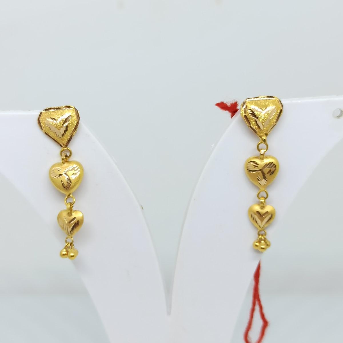 Heart Drop Earrings 2