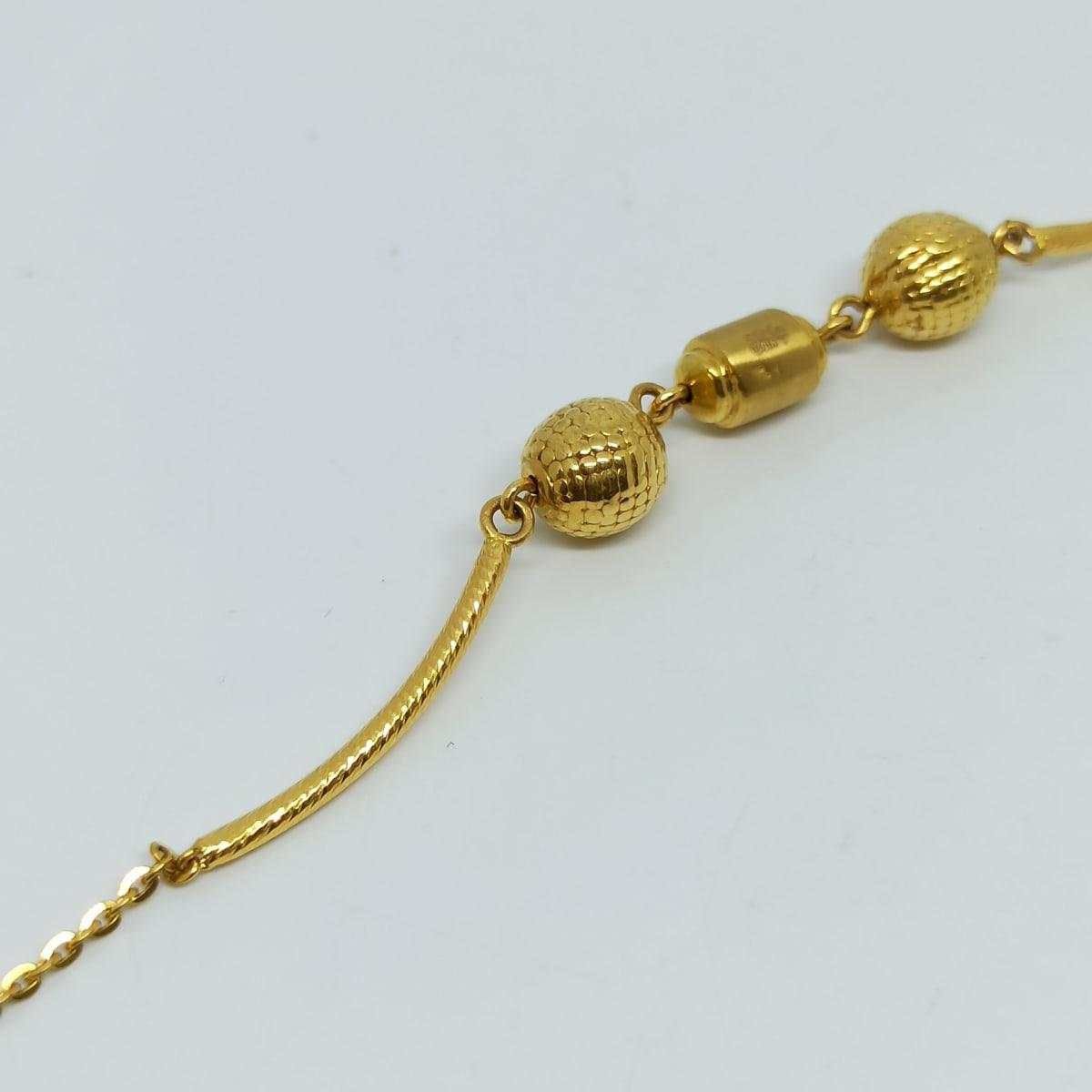 Gold Bead Bracelets
