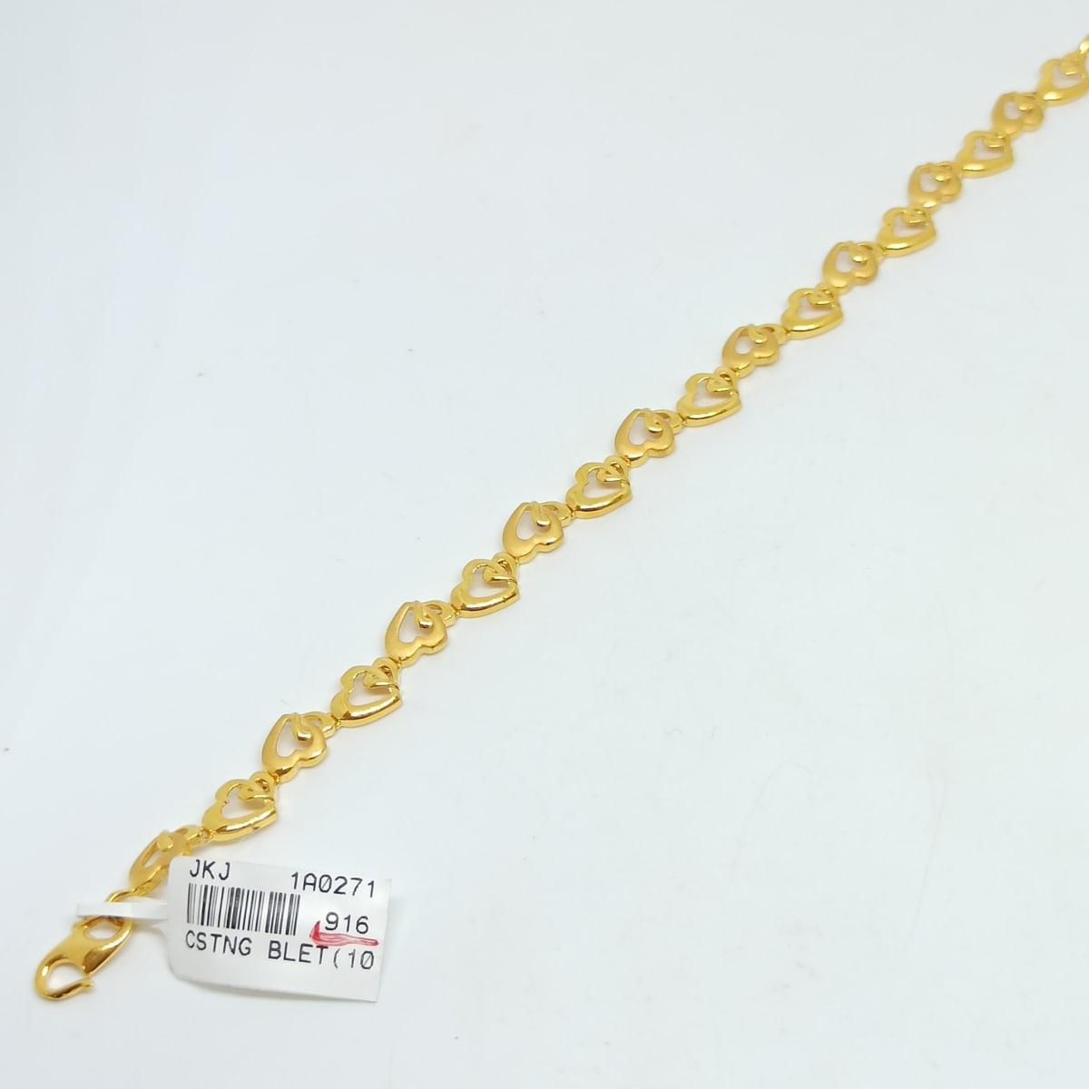 Heart Link Bracelet