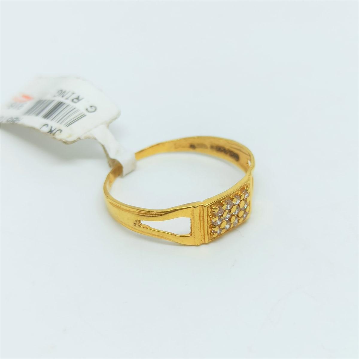 Parth Cz Ring