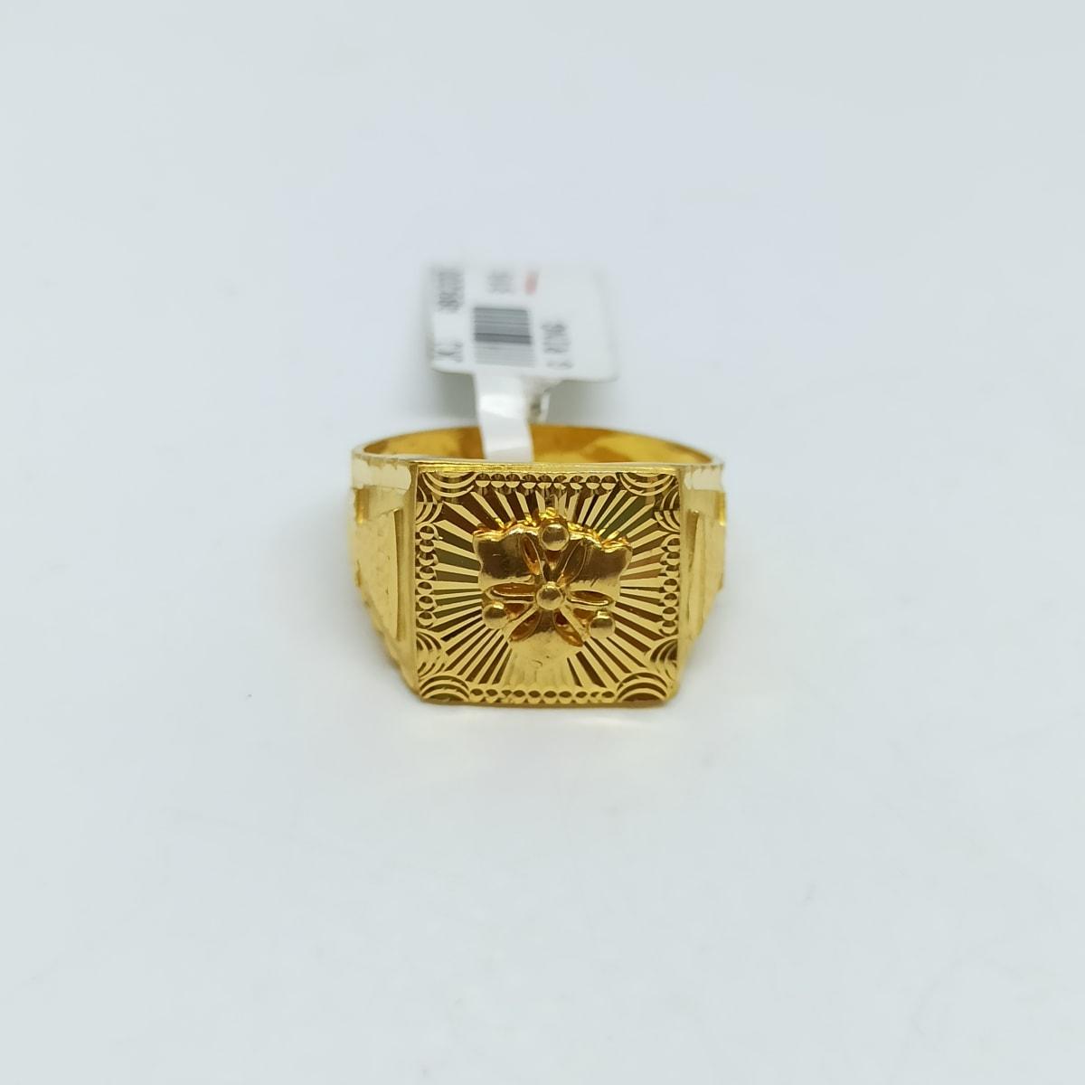 Kavish Plain Gold Ring
